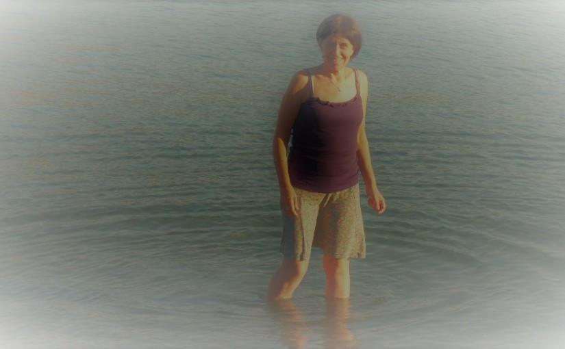 Want ik kies liever zelf hoe diep ik in het watersta.